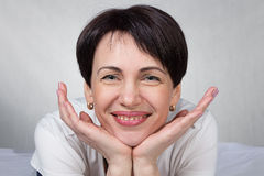 Portrait of woman royalty free stock photos