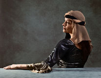 Portrait of woman in Renaissance gown Stock Image