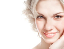 Portrait of a woman's face Royalty Free Stock Image