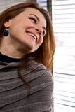 Portrait of woman smiling Stock Photography