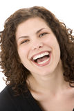 Portrait Of Woman Smiling Stock Image