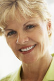 Portrait Of A Woman Smiling Royalty Free Stock Photo