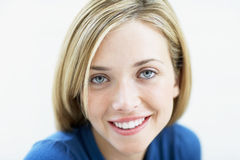 Portrait Of Woman Smiling Stock Photos