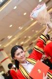 Portrait woman success. Portrait Thai woman success on commencement day,  Thailand university Royalty Free Stock Photo