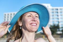 Summer female portrait close-up Royalty Free Stock Image