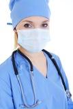 Portrait of woman surgeon Stock Photography