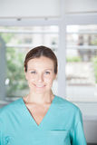 Portrait of woman therapist Stock Photos