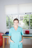 Portrait of woman therapist Stock Photo