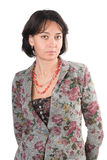 Portrait women of forty years Royalty Free Stock Photography