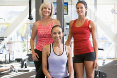 Portrait Of Women At Gym Royalty Free Stock Photography