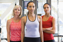 Portrait Of Women At Gym Royalty Free Stock Images