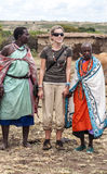 Portrait of women Masai Mara Royalty Free Stock Photo