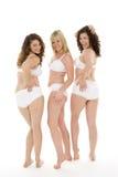 Portrait Of Women In Their Underwear Stock Photos