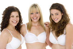 Portrait Of Women In Their Underwear Royalty Free Stock Photography