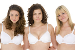 Portrait Of Women In Their Underwear Stock Image