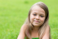 Portrait of a wonderful little girl Royalty Free Stock Photos
