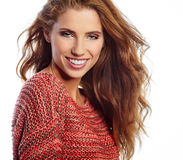 Portrait of wonderful young woman Royalty Free Stock Photos
