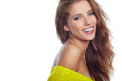 Portrait of wonderful young woman Royalty Free Stock Images