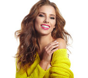 Portrait of wonderful young woman Royalty Free Stock Photography
