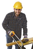 Portrait of worker Royalty Free Stock Photo