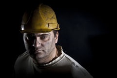 Portrait of the worker Stock Photography
