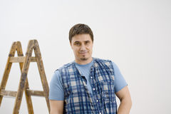 Portrait or worker Royalty Free Stock Photography