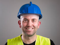 Portrait of a worker expressing positivity Stock Image