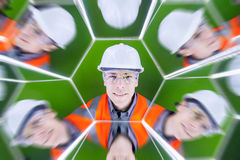 Portrait of a worker Royalty Free Stock Photography