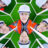 Portrait of a worker Royalty Free Stock Image