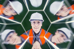 Portrait of a worker Royalty Free Stock Photos