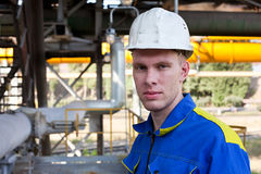 Portrait of worker man Royalty Free Stock Photo