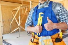 Portrait of workman Stock Photo