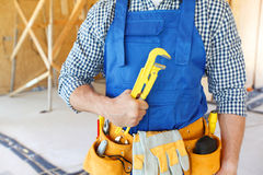 Portrait of workman Royalty Free Stock Images