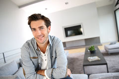 Portrait of 30-year-old man Stock Photo