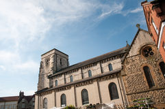 Portrait of a yorkshire church Royalty Free Stock Photography