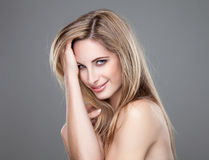 Portrait of an yough beautiful woman Royalty Free Stock Photos