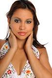 Portrait of Yougn Hispanic Woman stock photography