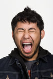 Portrait of young adult Asian man Stock Photo