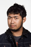 Portrait of young adult Asian man Stock Image