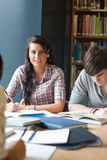 Portrait of young adults studying Stock Photos