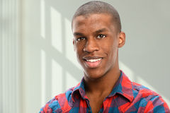 Portrait of Young African American Stock Photo