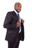 Portrait of a young African American business man Royalty Free Stock Photography