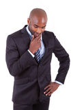 Portrait of a young African American business man Stock Photo
