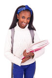 Portrait of young african student Stock Photos