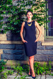 Portrait of Young American Businesswoman Royalty Free Stock Photography