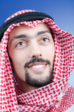 Portrait of young arab Stock Photography