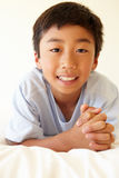 Portrait young Asian boy Royalty Free Stock Images