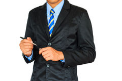 Portrait of young asian business man Royalty Free Stock Photography