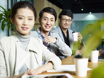 Portrait of a young asian business team Royalty Free Stock Photography
