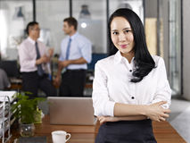 Portrait of young asian business woman Royalty Free Stock Photography